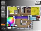 Elektrotechnik, Elektroinstallation,KNX,KNX Planung KNX Aufbau KNX Systemintegrator 3D Grundriss, Grundrissdarstellung,Eisbaer,Busbaer,Busbär,Eisbär, Visualisierung