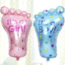 Гелиевый шар ножка малыша