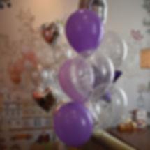 Гелиевые шары с конфети