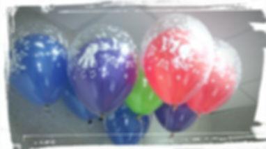 Гелиевый шар в шаре
