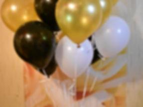 Гелиевые шары однотонные