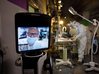 Corona ICU in Sheba Hospital