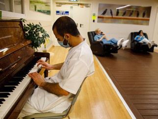 Corona Ward in Ichilov Hospital