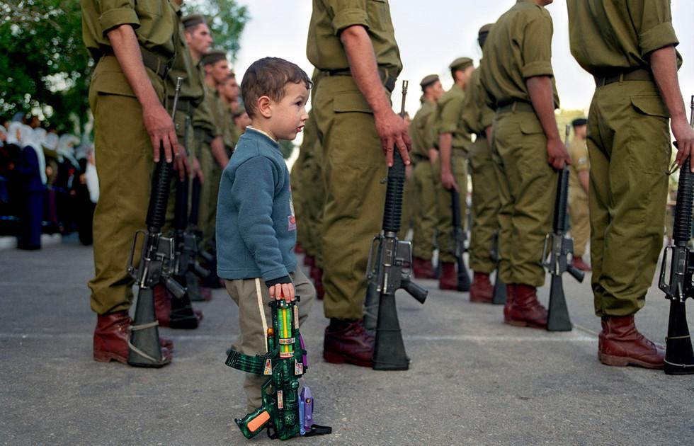 Milestones Print #4 - Nebi Shuweb, Israel Feb. 2003