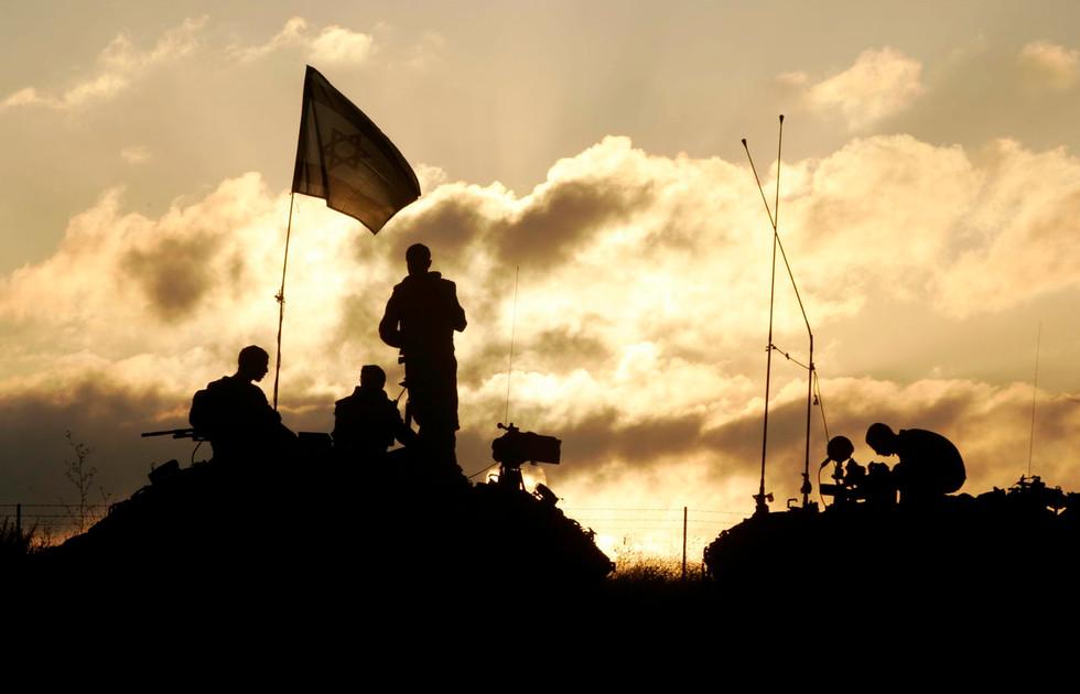 Milestones Print #34 - Israel-Lebanon Border Aug. 2006