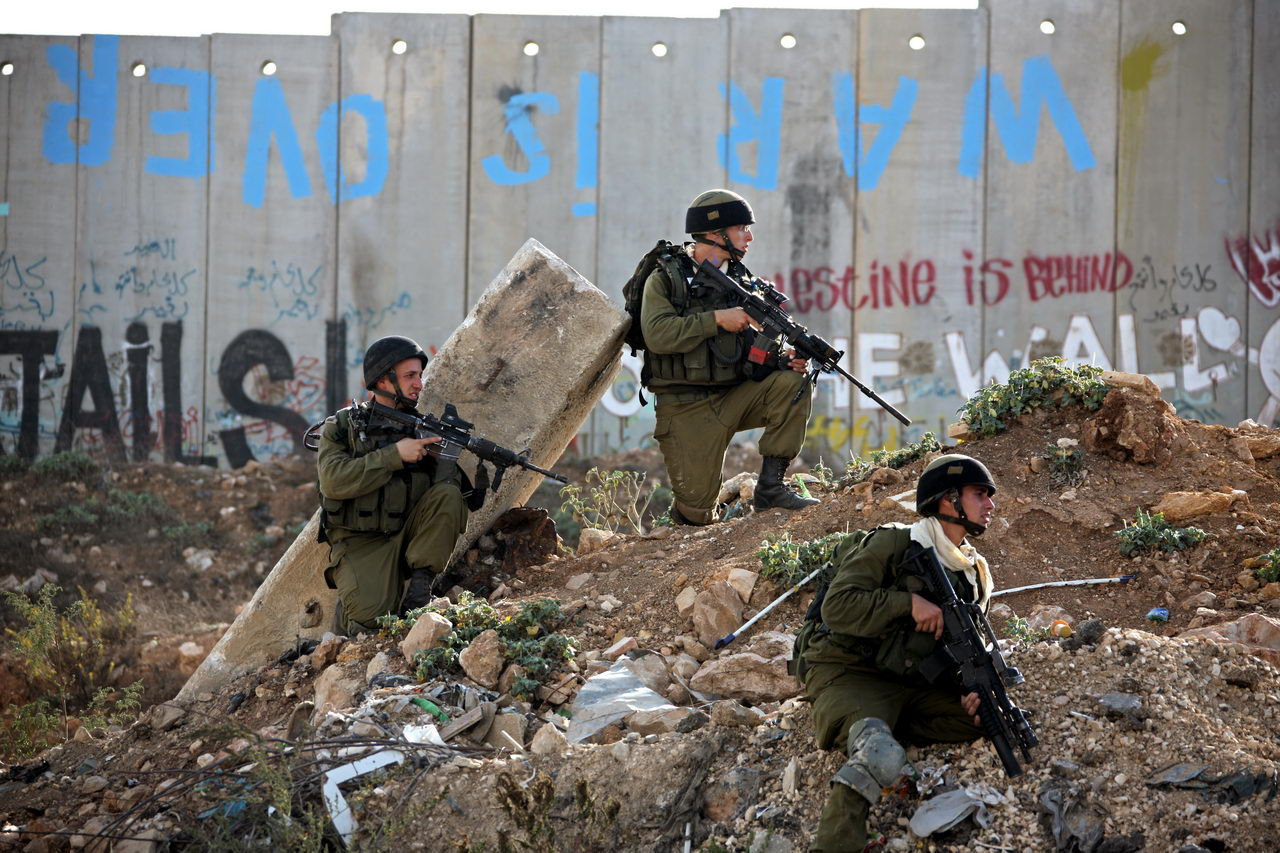 Milestones Print #18 - Ramallah, West Bank Oct. 2009