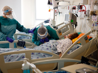Parting from a dying patient in Ichilov Hospital