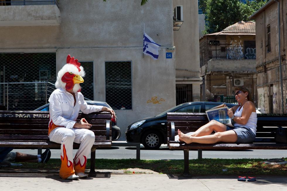 Urbanism Print #12 - Tel Aviv, Israel Jul. 2011