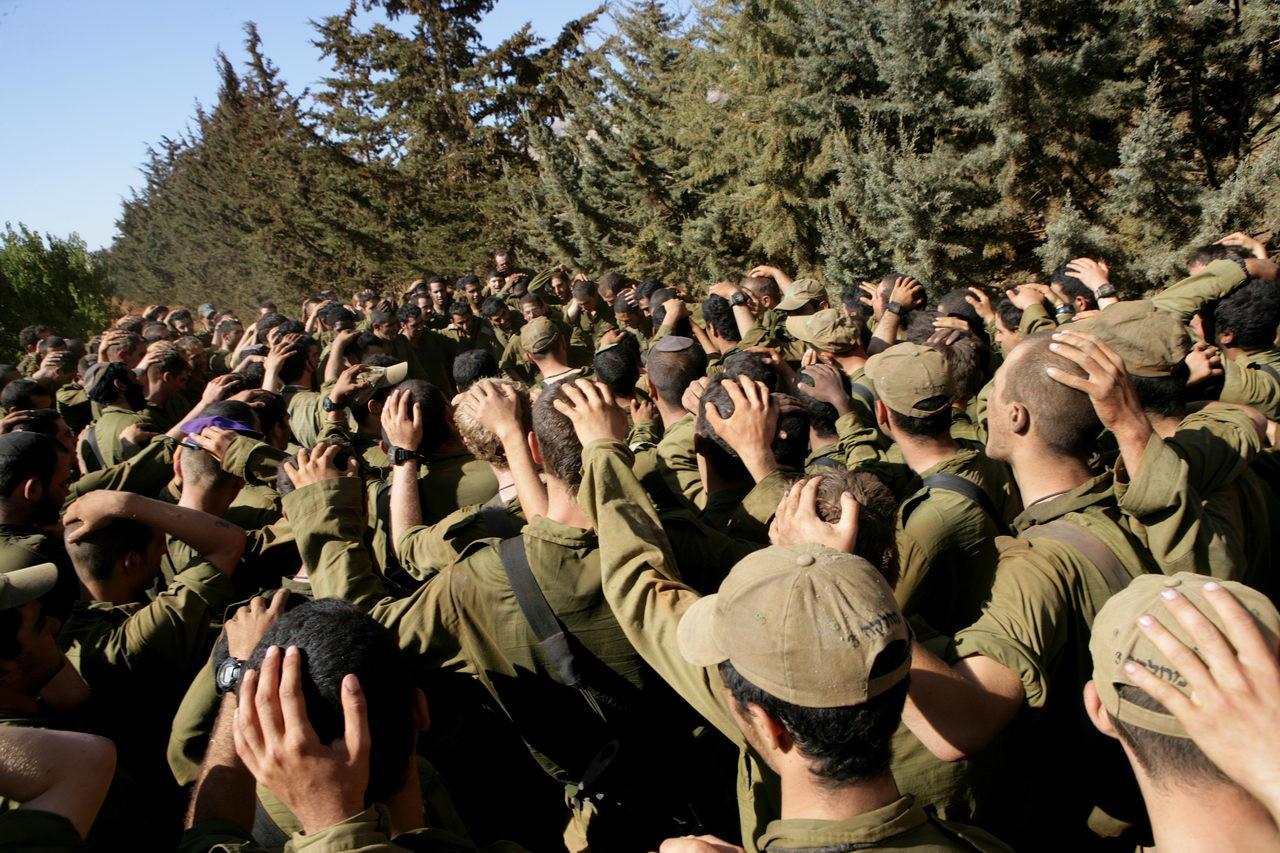 Milestones Print #28 - Israel-Lebanon Border Aug. 2006