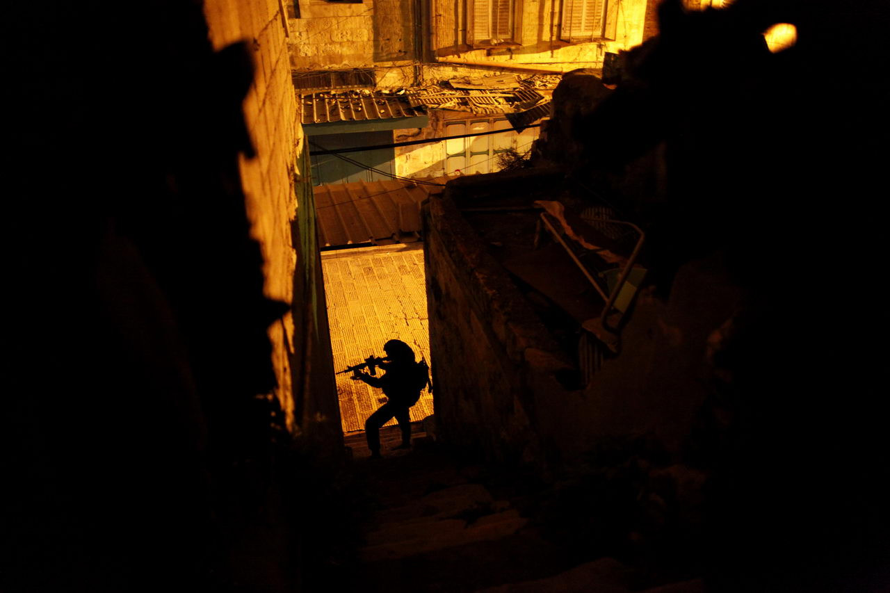Milestones Print #20 - Nablus, West Bank Feb. 2009