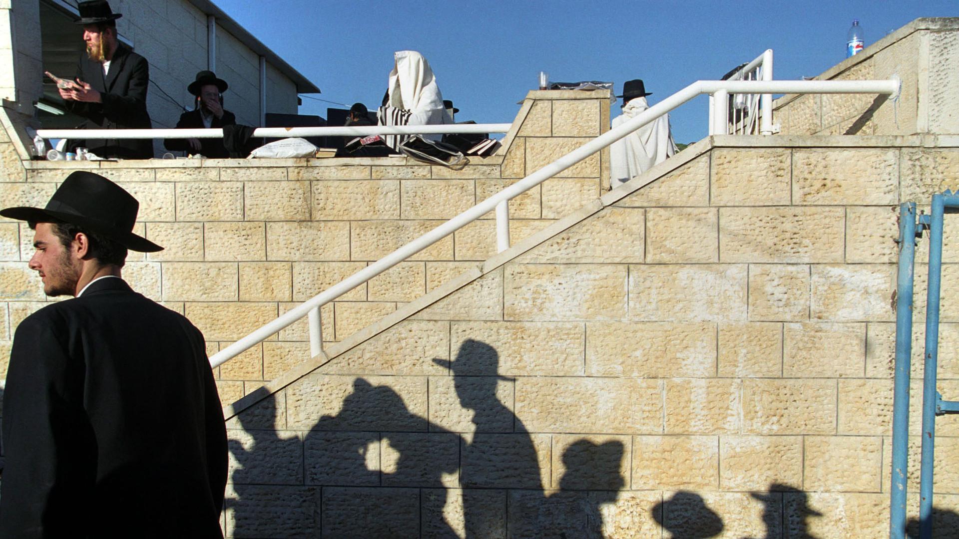70 Faces Print #5 - Mount Meron, Israel April 2002