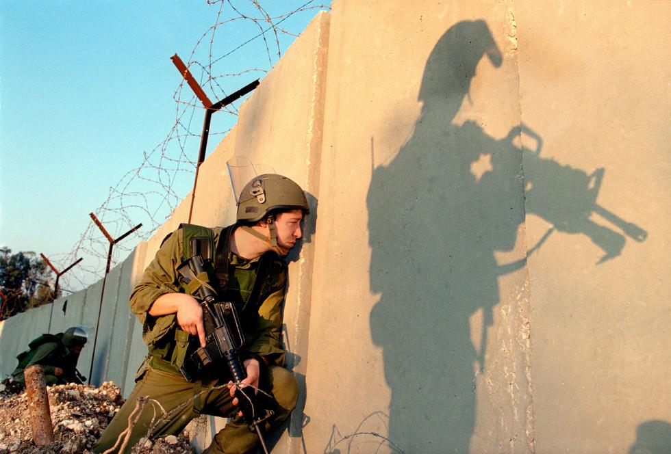 70 Faces Print #6 - Jenin, West Bank December 2001