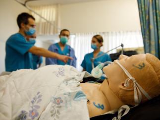 Corona Ward in Wolfson Hospital