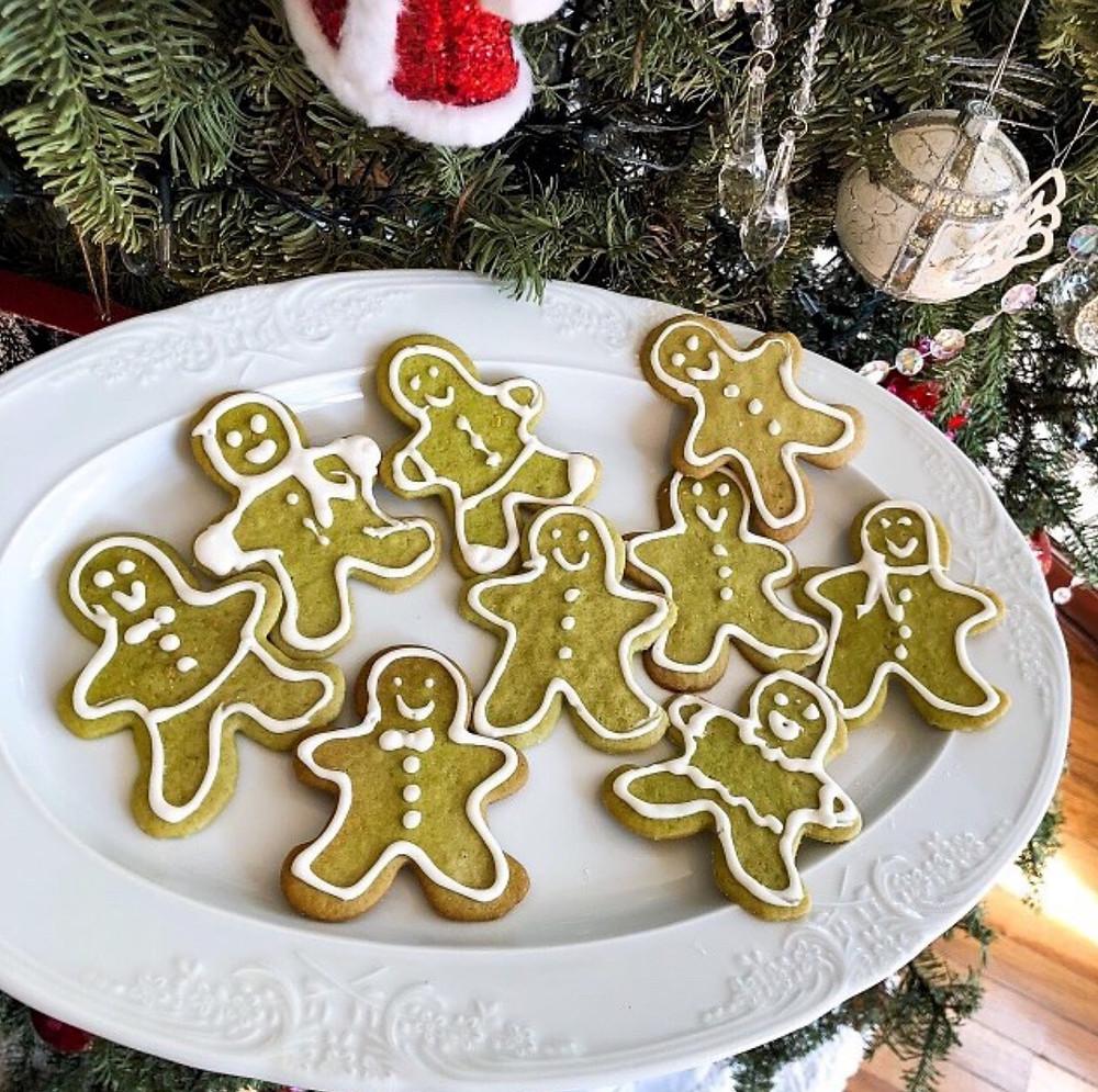 galletas hombre de gengibre