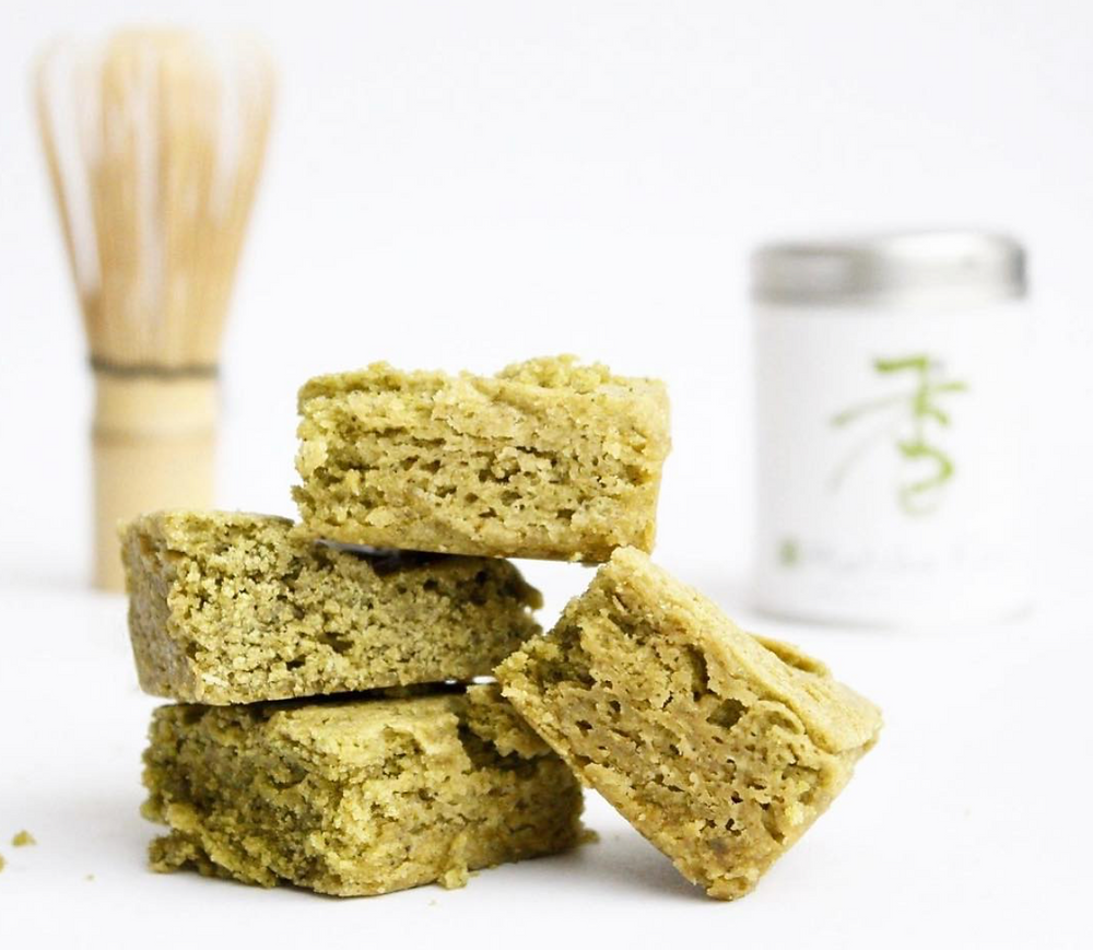 blondies matcha