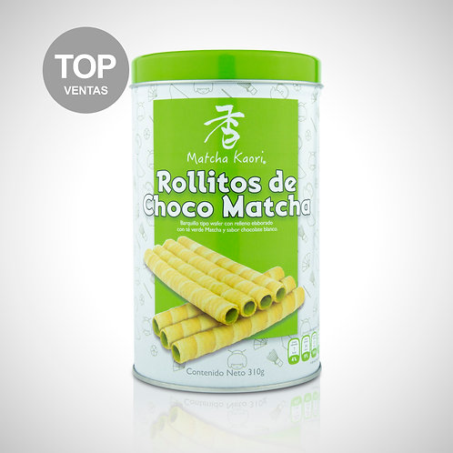 Rollitos Choco-Matcha
