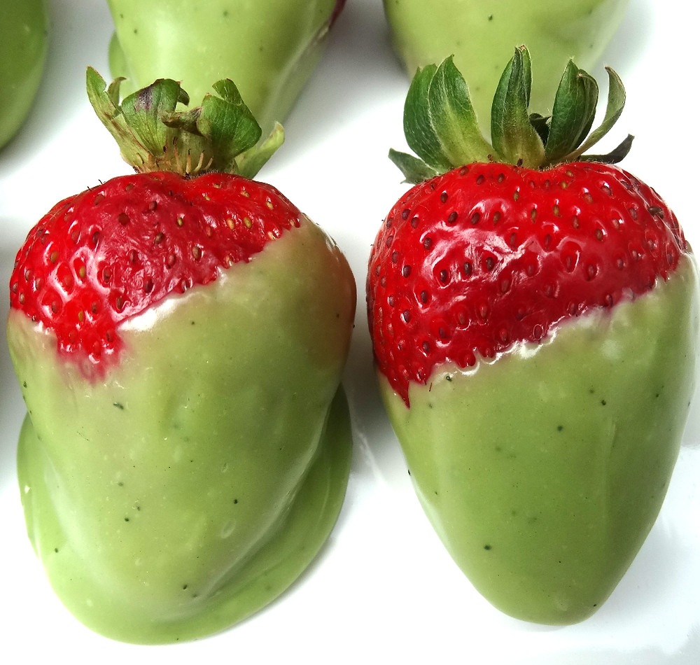 Fresas Matcha Kaori