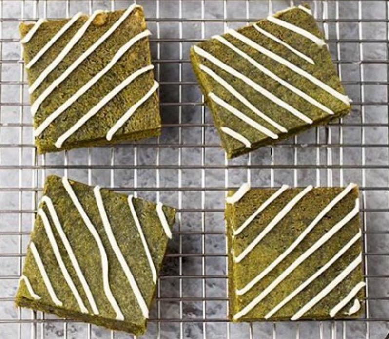 brownies matcha kaori