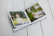 Album med bilder tatt hos fotograf i Bergen.