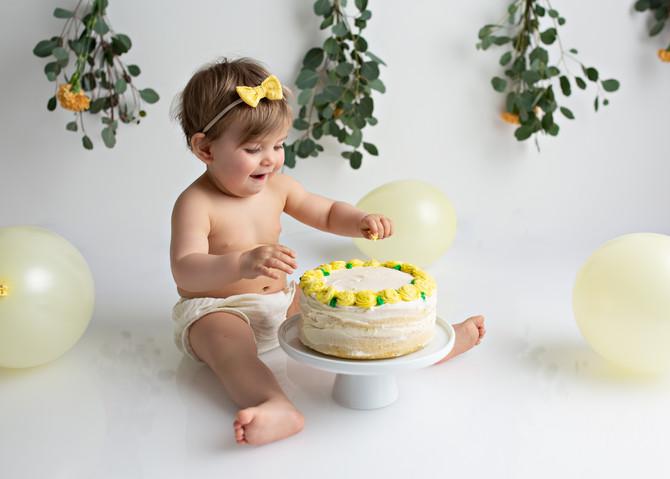 Cake Smash med Aurora