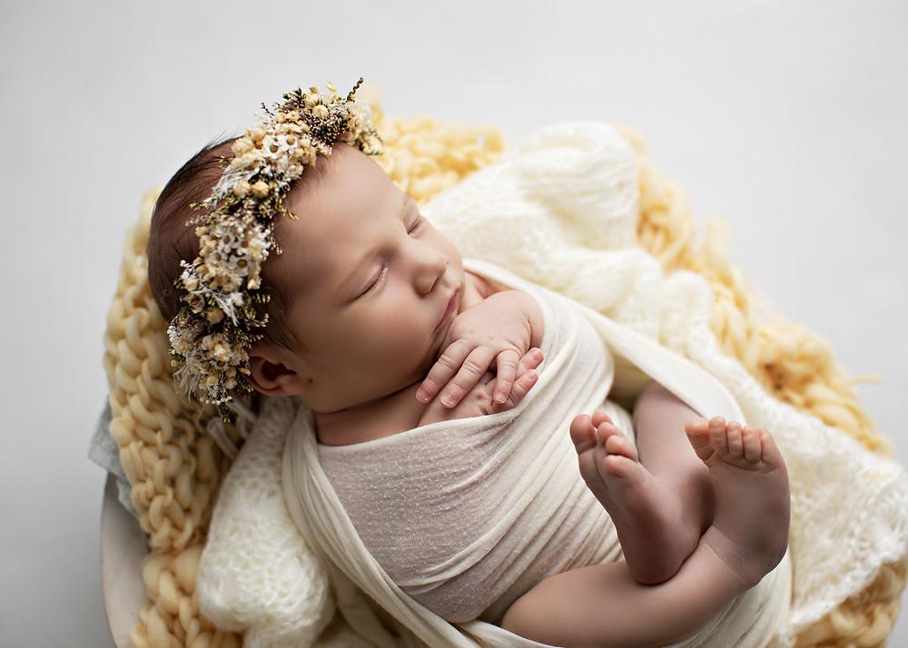 nyfødtfotograf bergen, babyfotograf