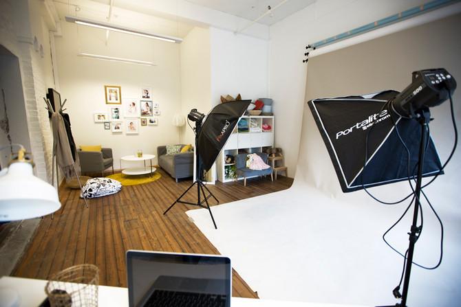 Bilder av studio