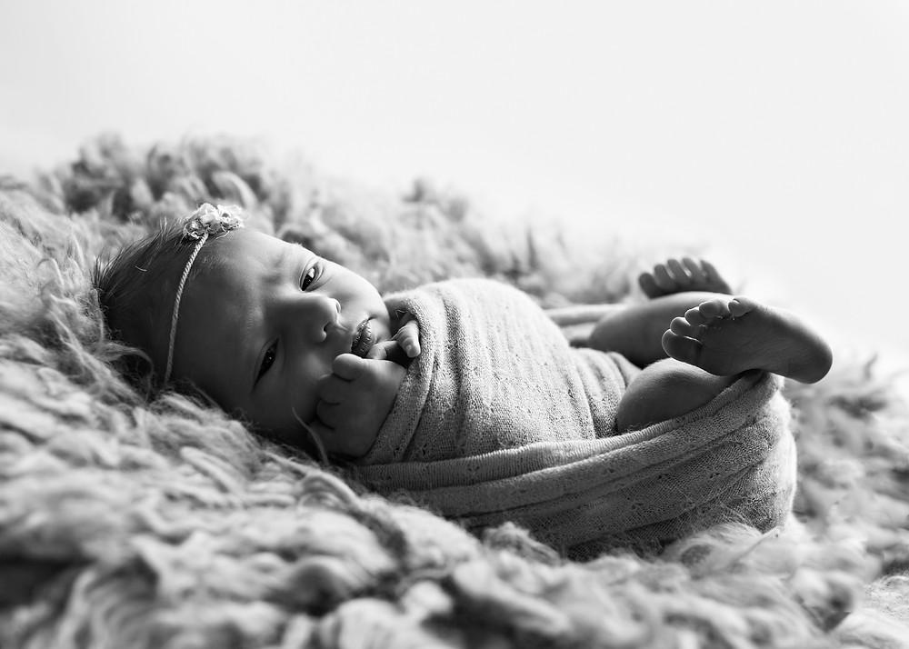 nyfødtfotograf i bergen