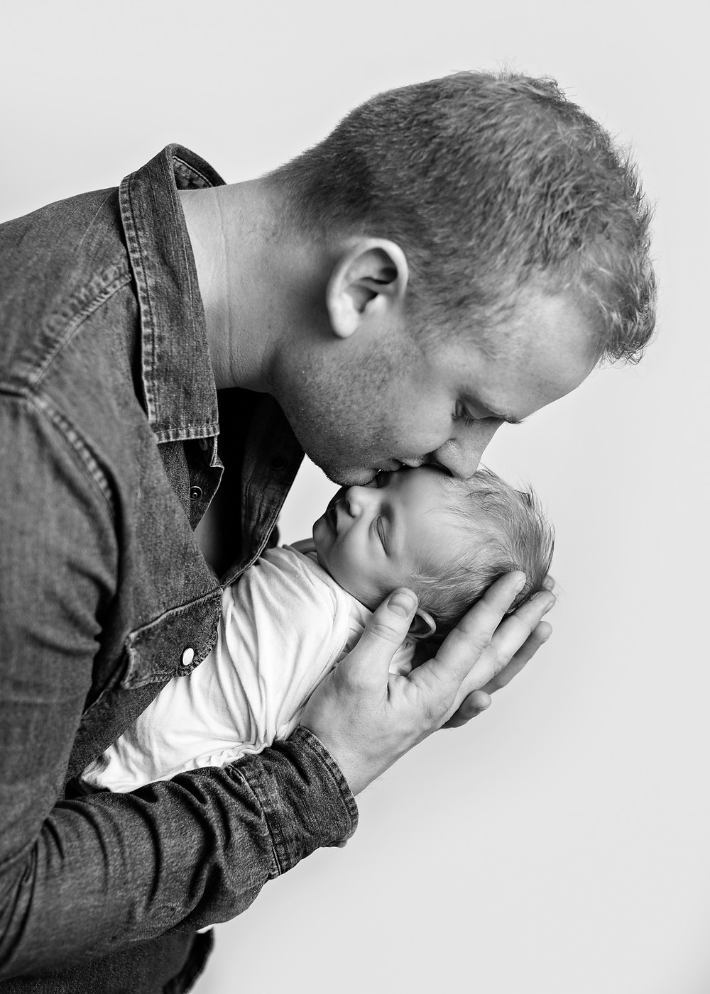 nyfødt og pappa