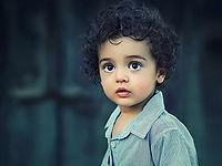 Child looking worried