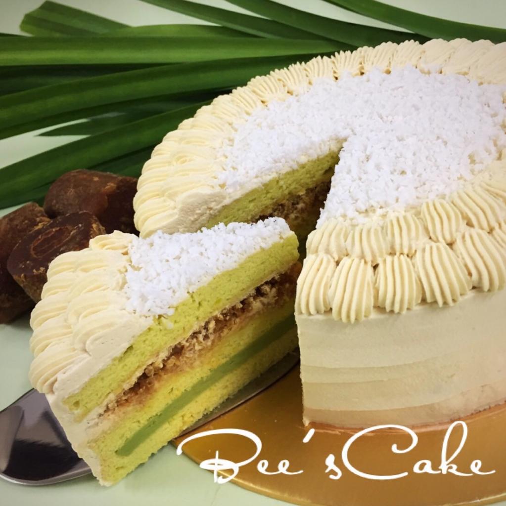 Gula Melaka Pandan Cake