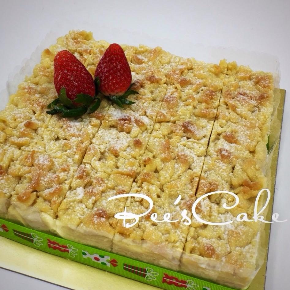 Apple Cake Slices