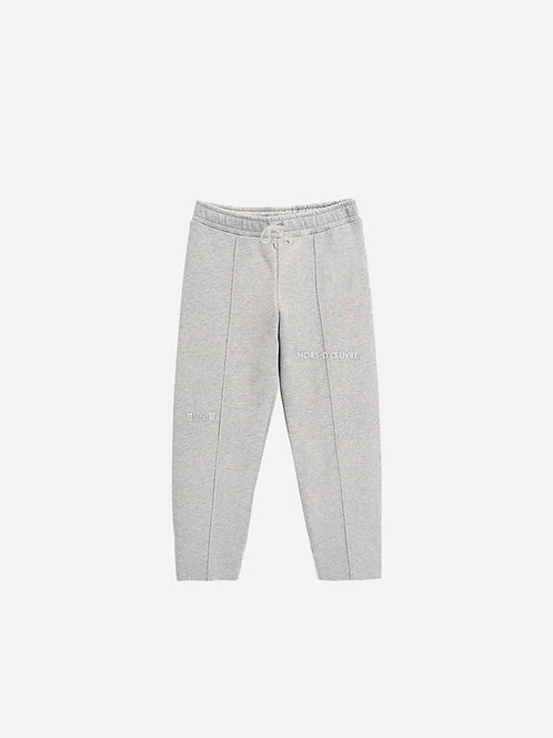 Trousers - Grey Melange