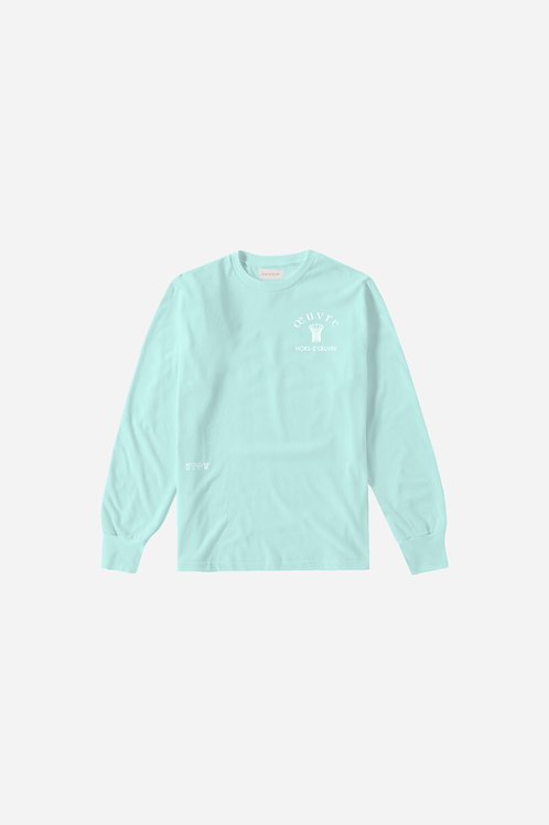 Oeuvre Crewneck - Light Mint