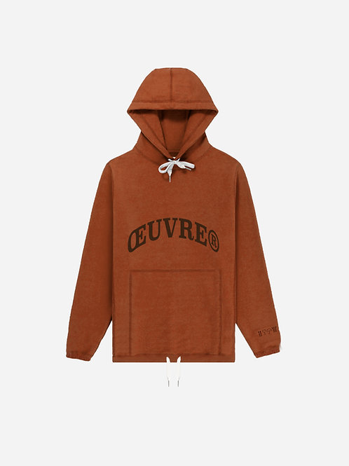 Oeuvrer College Hoodie - Apricot