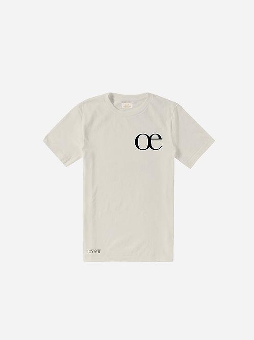 L'E dans l'O Tee - Oyster Grey