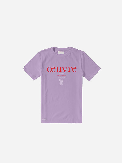 Oeuvre Graphic Tee - Orchid