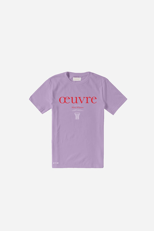 Oeuvre Graphic Tee - Orchidé