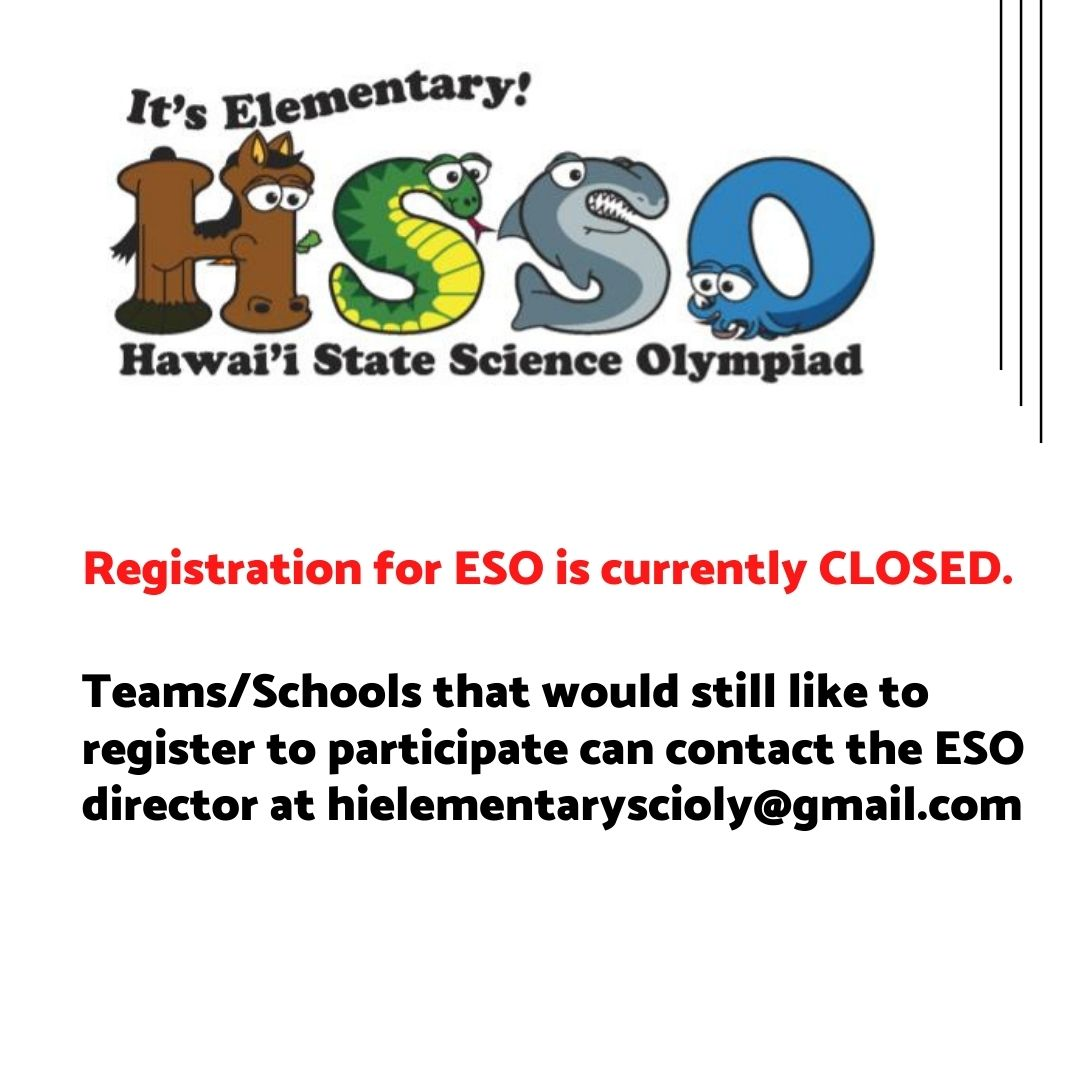 Registration is open for ESO! Head over