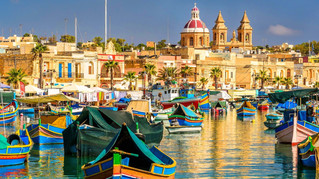 Azul, Azul.....Azul Malta, Comino, Gozo