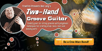 Ben Lacy's Two-Hand Groove Guitar
