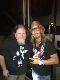 Bret MIchaels and Ben Lacy