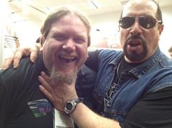 Ben Lacy with Mark Mendoza