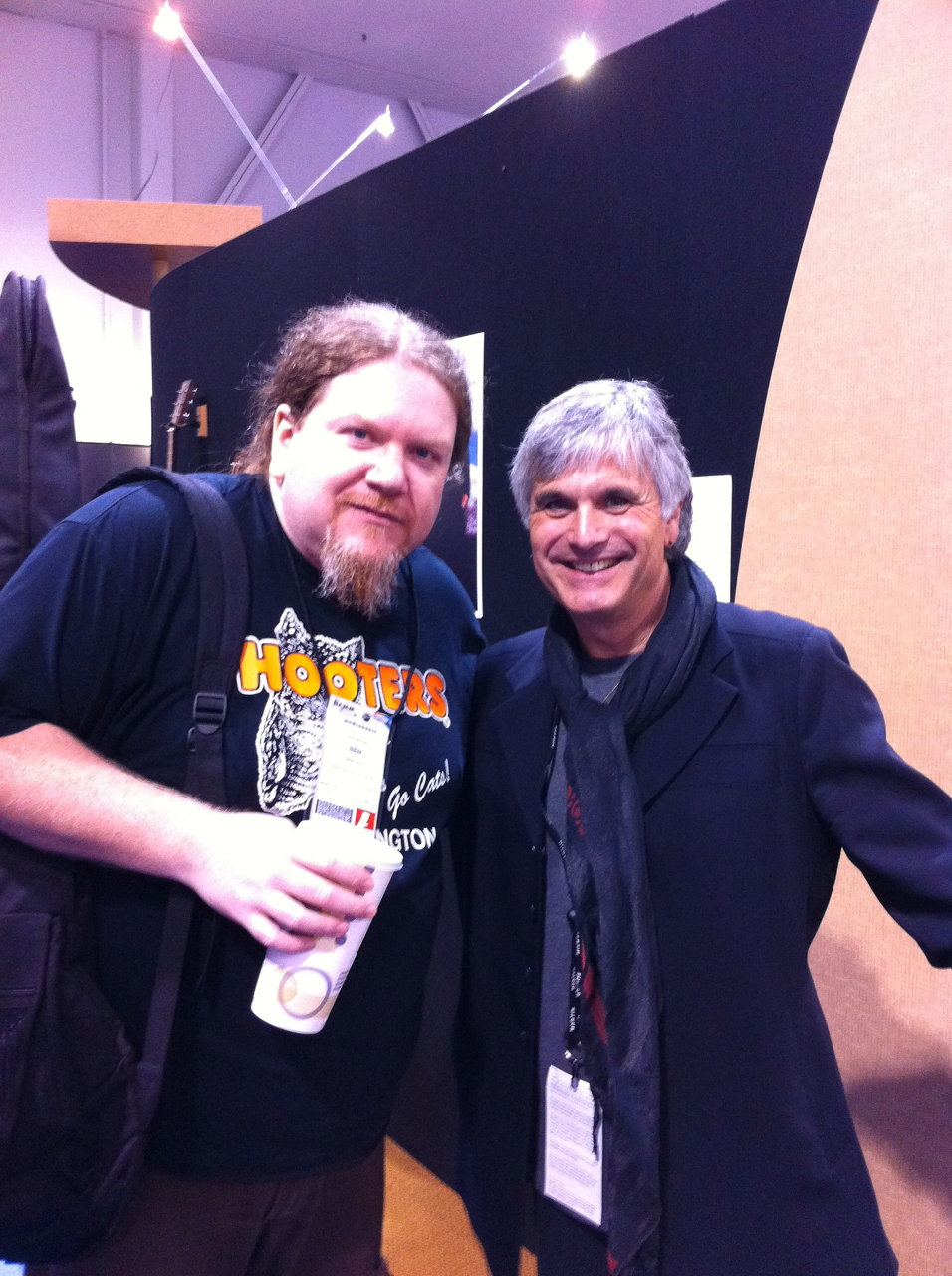 Ben and Laurence Juber