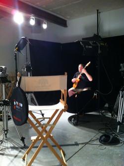 Ben at the TrueFire studio