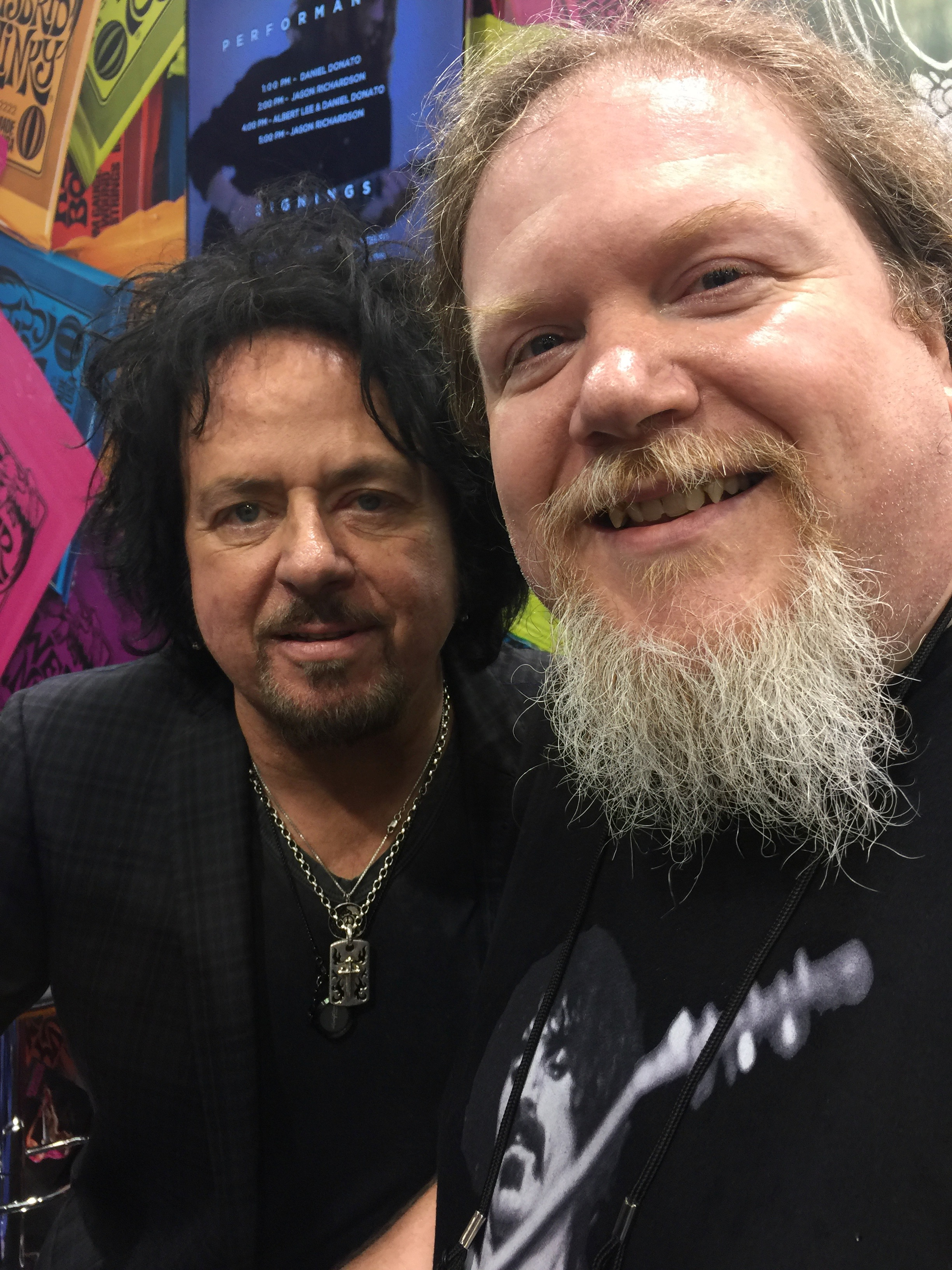 Ben with Steve Lukather