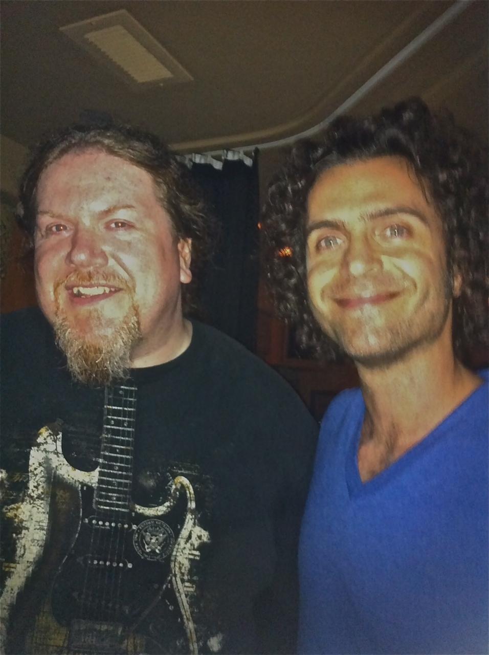 Ben and Dweezil Zappa