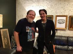 Ben with Steve Vai