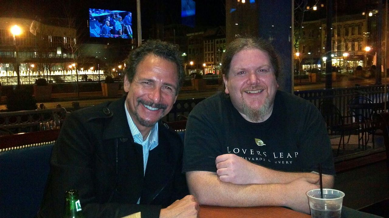 Ben with Jim Rome