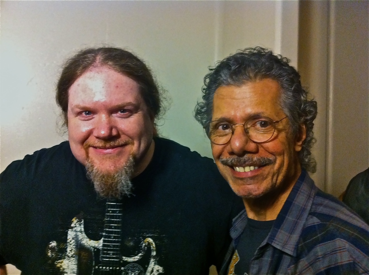 Ben with Chick Corea
