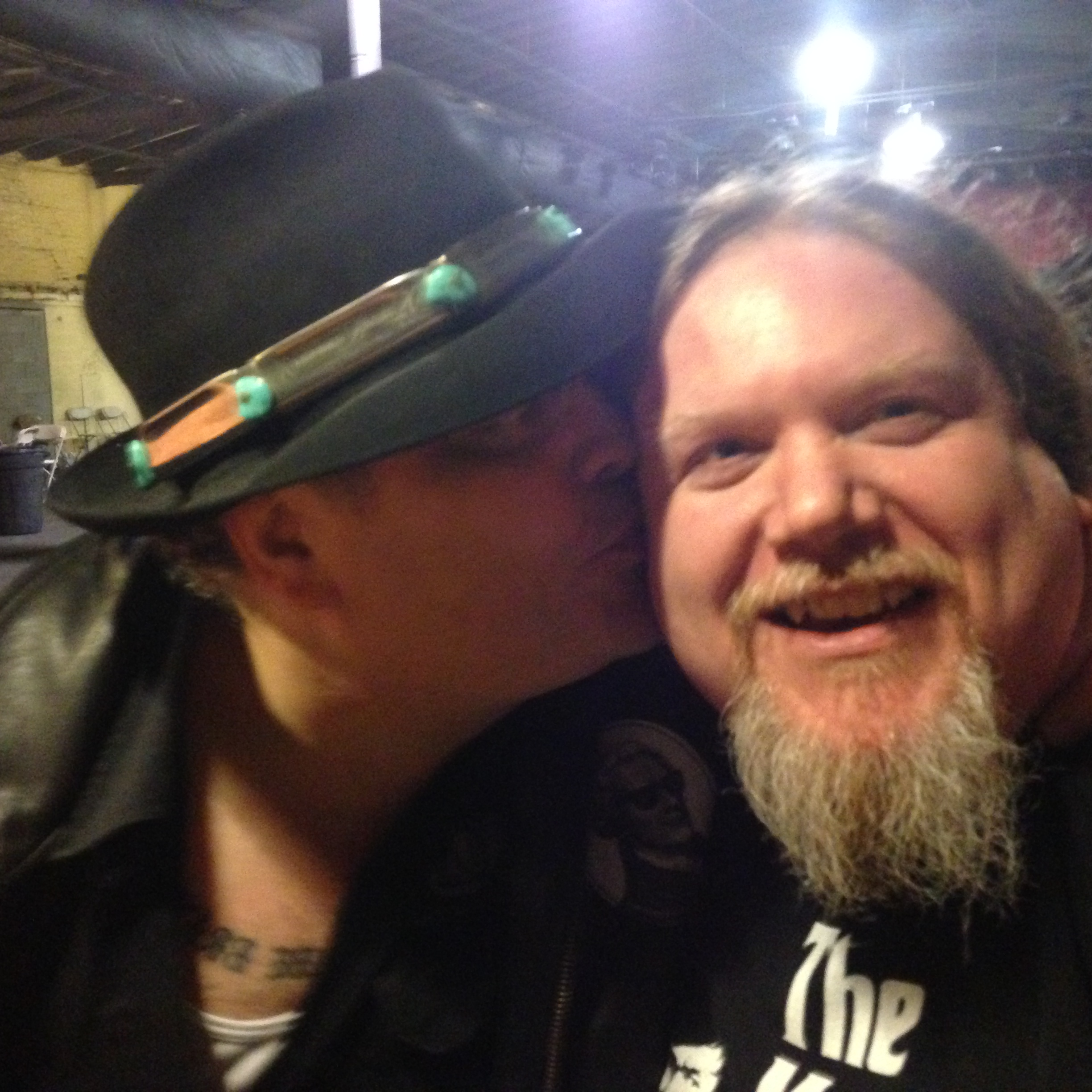 John Popper and Ben Lacy